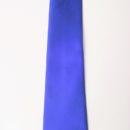 Cravate personnalisée (bleue + logo sous le nœud), membres harmonie musicale