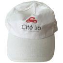casquette publicitaire, coton léger, impression 2 couleurs