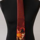 cravate personnalisée imprimée, cadeau anniversaire entrepris