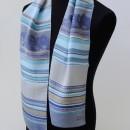 écharpe tissée en soie (cadeau vip université)