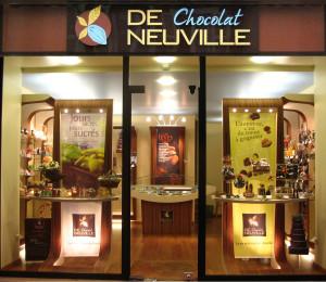 Kakémono, boutique fanchisée (chocolat)