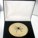 Médaille dorée à l'or fin offerte à Cédric Villani (médaille Field 2010)