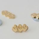pin's métal doré, aimanté, (corporate, entreprise)