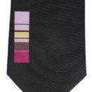 Cravate imprimée en polyester,(personnel restaurant)n