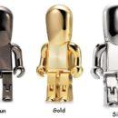clef USB People® métal : bronze, or , argent