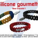 Bracelet silicone extensible....
