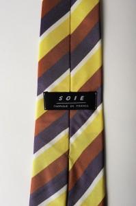 Cravate en soie publicitaire personnalisée