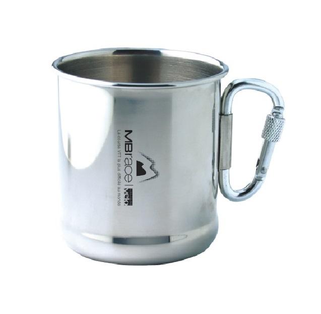 Mug en métal personnalisé (gravure laser),  souvenir évènement sportif