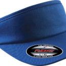 Visière couleur bleue personnalisable Technologie Flexfit