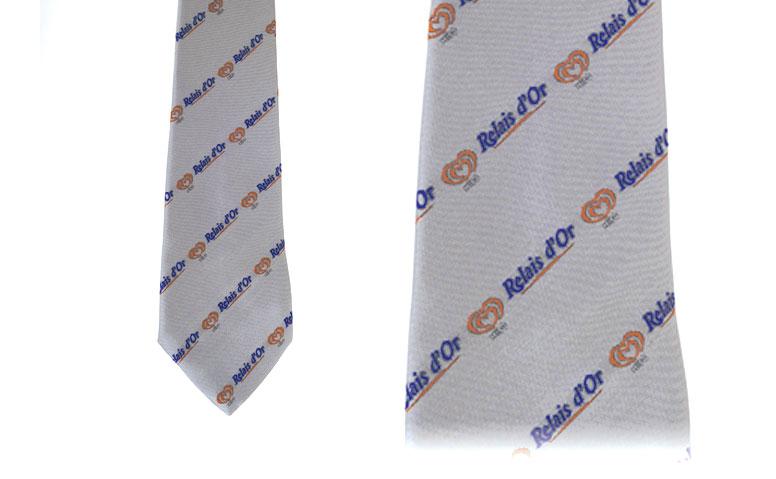 cravates tissées jacquard