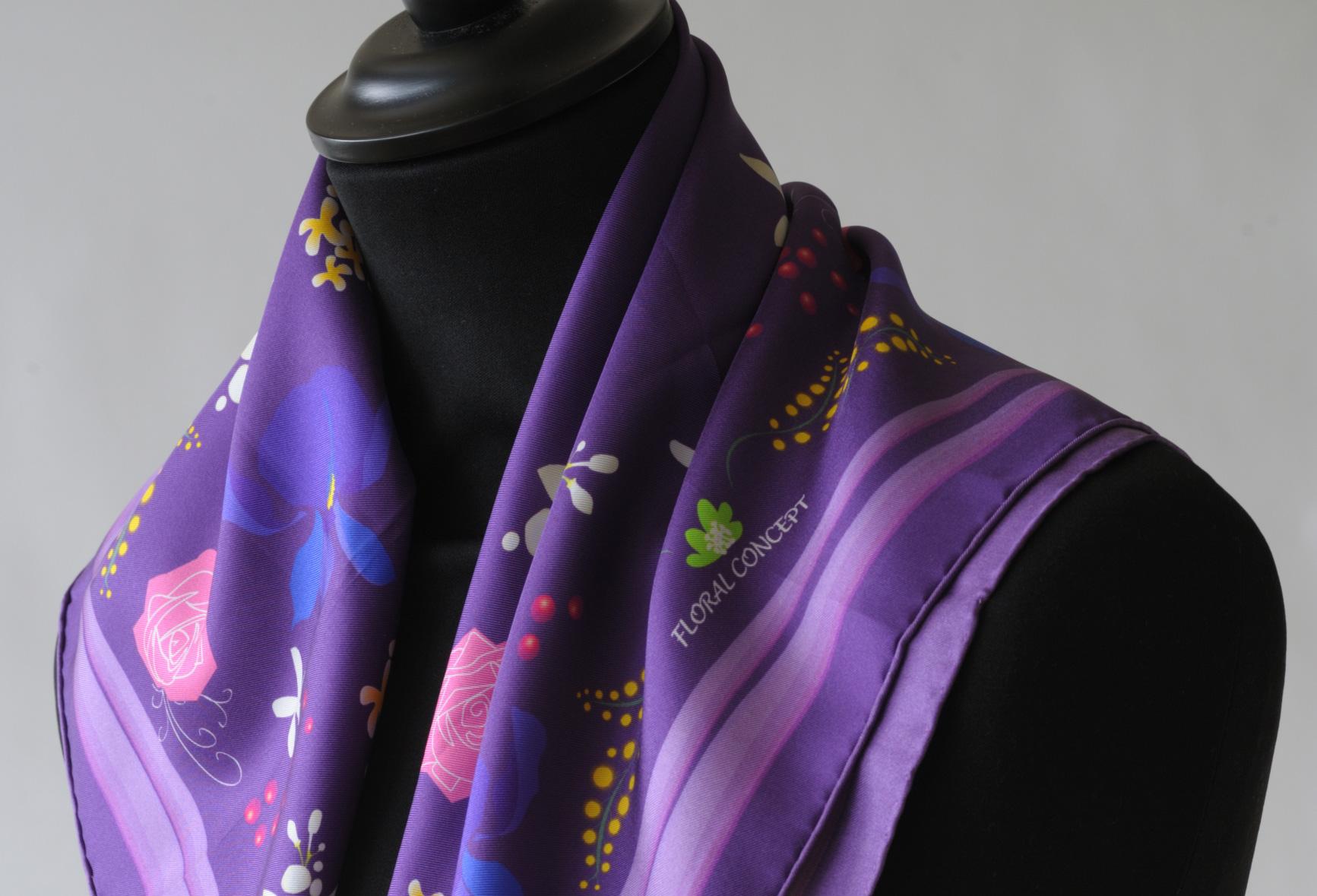 impression-numérique-textile-foulard-soie