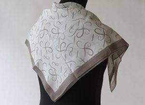 Impression sublimation sur foulard en polyester