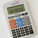 calculatrice publicitaire avec logo