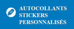 autocollants Stickers personnalises