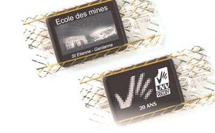 chocolats publicitaires