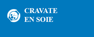 cravate en soie