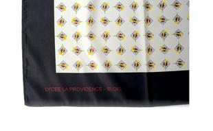 foulards polyester