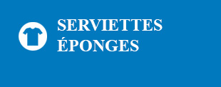 Serviettes éponges
