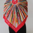 foulard personnalise logo et couleurs salon événementiel