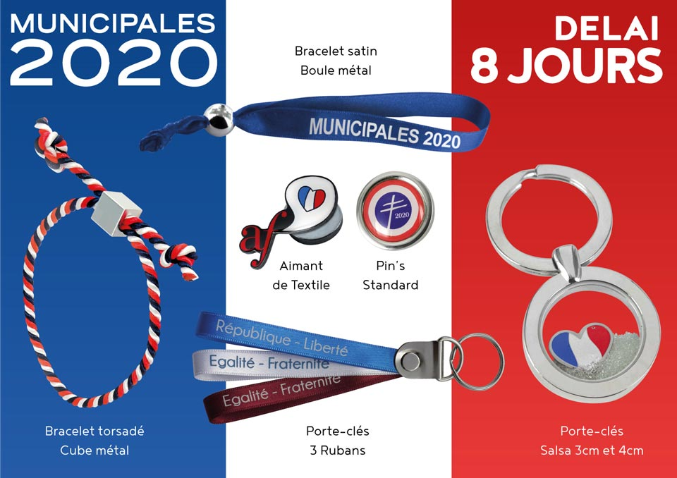 kit Goodies élection municipale 2020