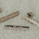 Pins badge personnalisable