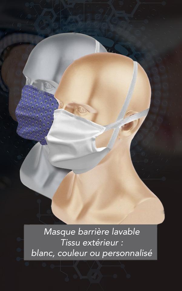 masque barrière filtrant certifié