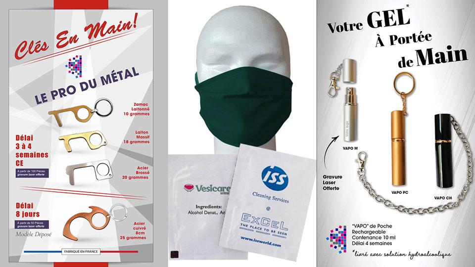 kits sanitaire anti coronavirus