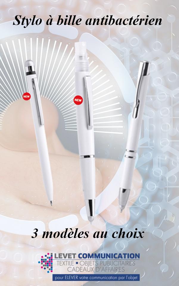 stylo antibactériens