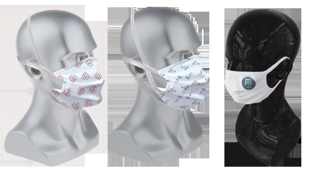 masque anti bactérien
